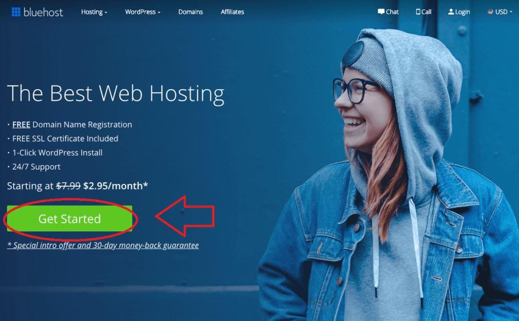 bluehost-review-screenshot