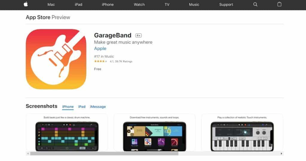 garageband-free-download