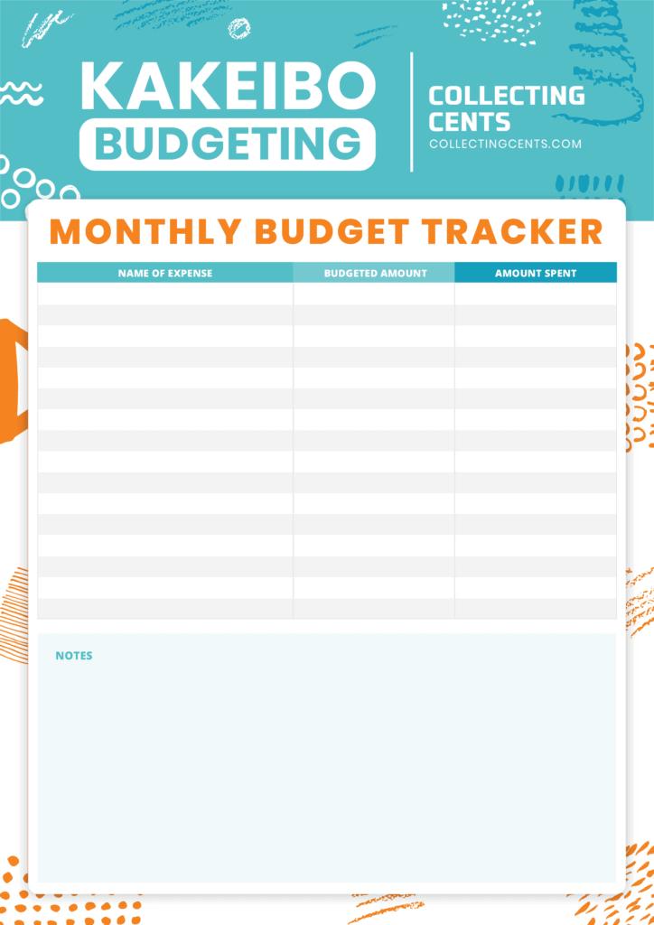 kakeibo budgeting method