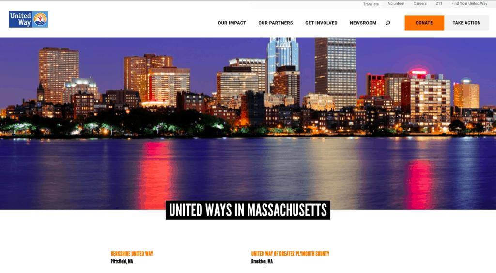 united ways massachusetts